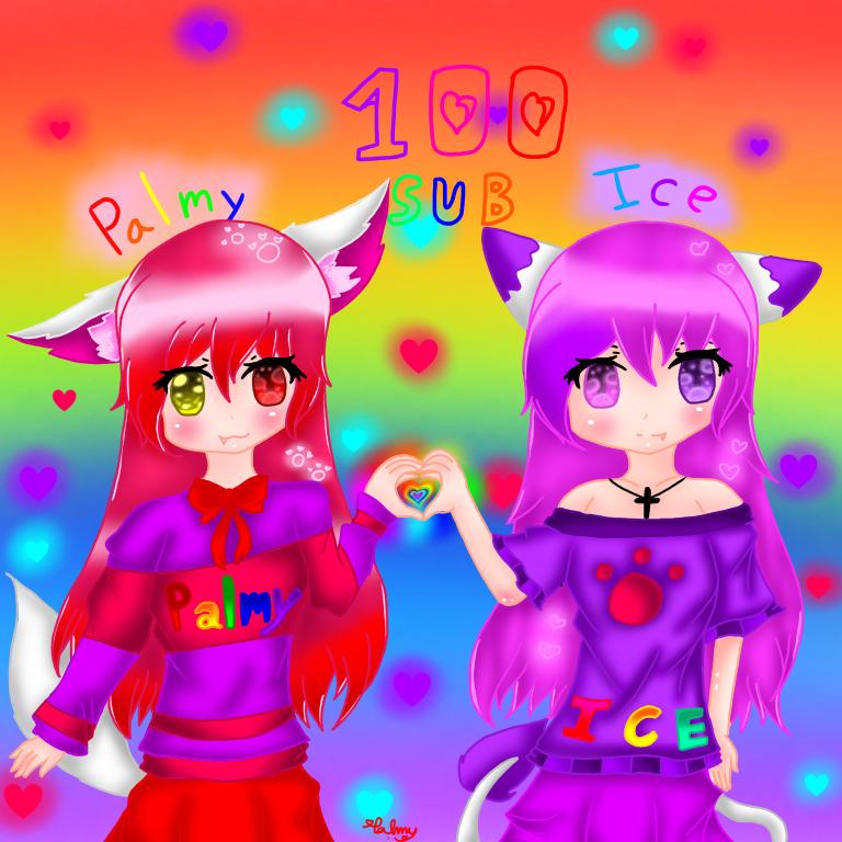 ยินดีสำหรับ 100 ซับจ้า ice cat Tv ส่งกิจ