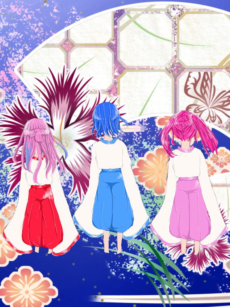 巫女服(ヾノ・ω・`)ムリムリ