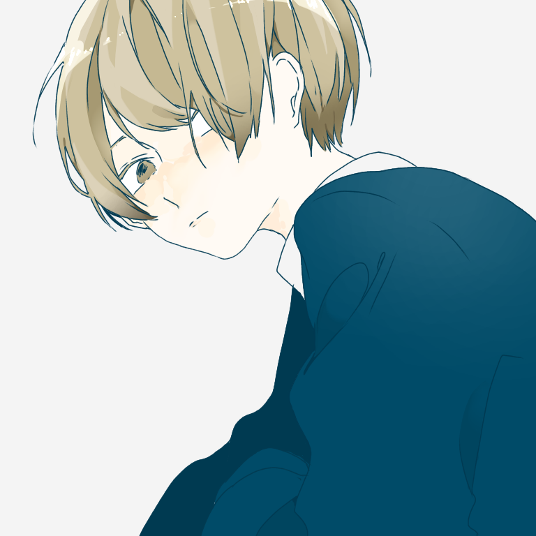 マッシュ男子 Ibispaint