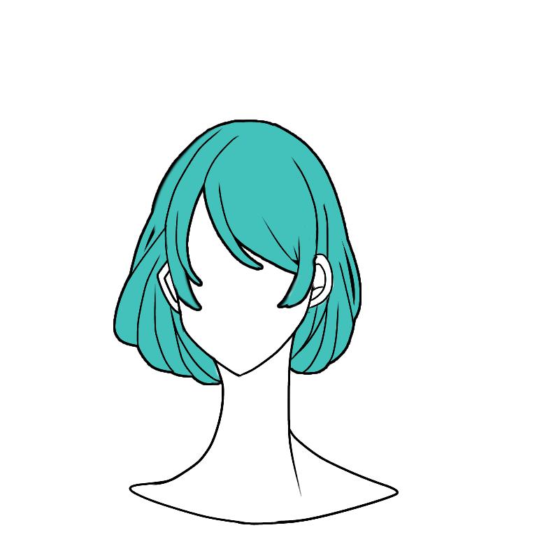ペイント 髪の毛 アイビス 【初心者用】簡単!アイビスペイントXでの人物の塗り方!これだけでうまく見える!