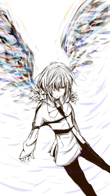 アクセラレータ 白い 翼
