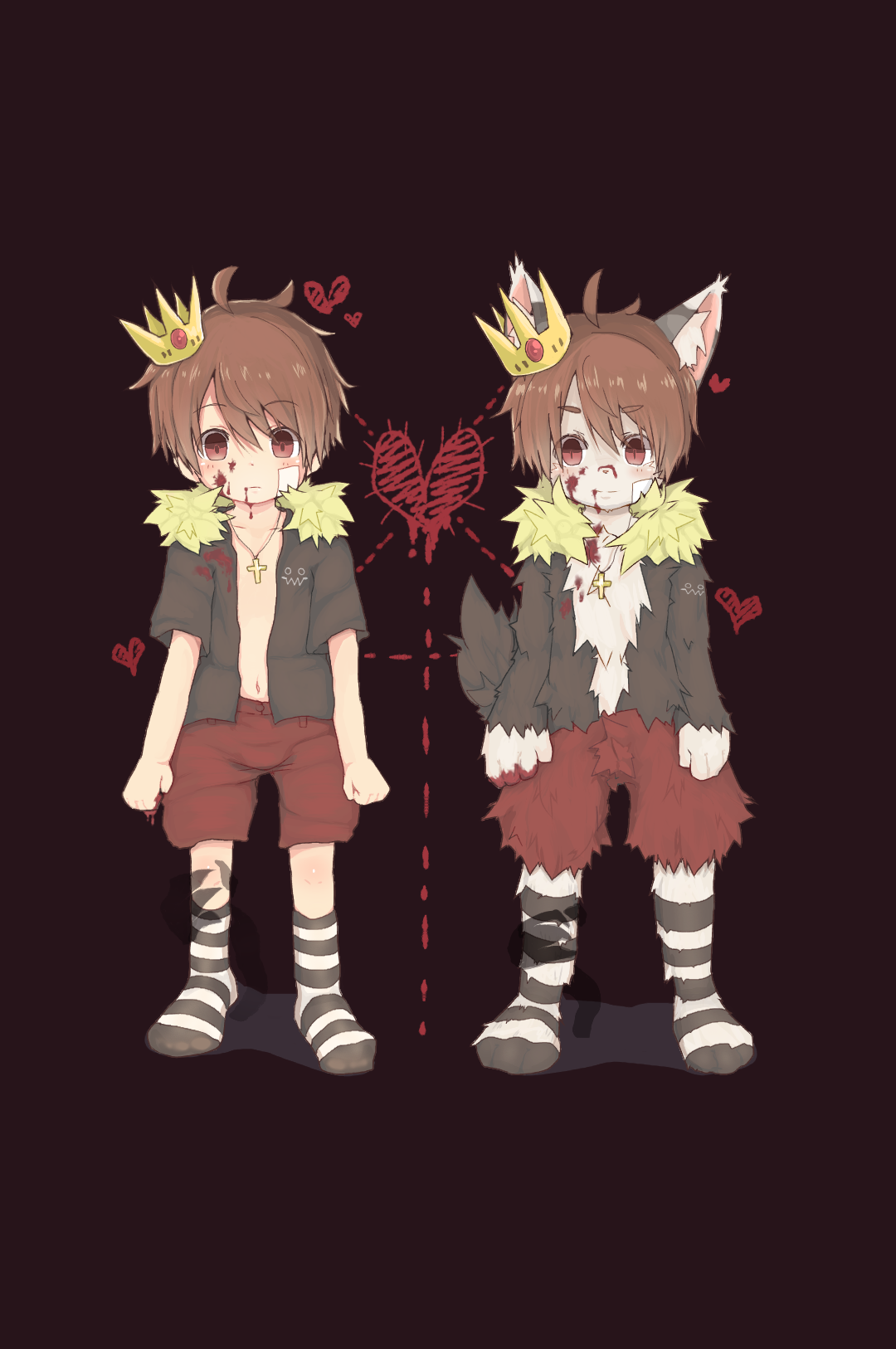 ショタとケモショタ♂
