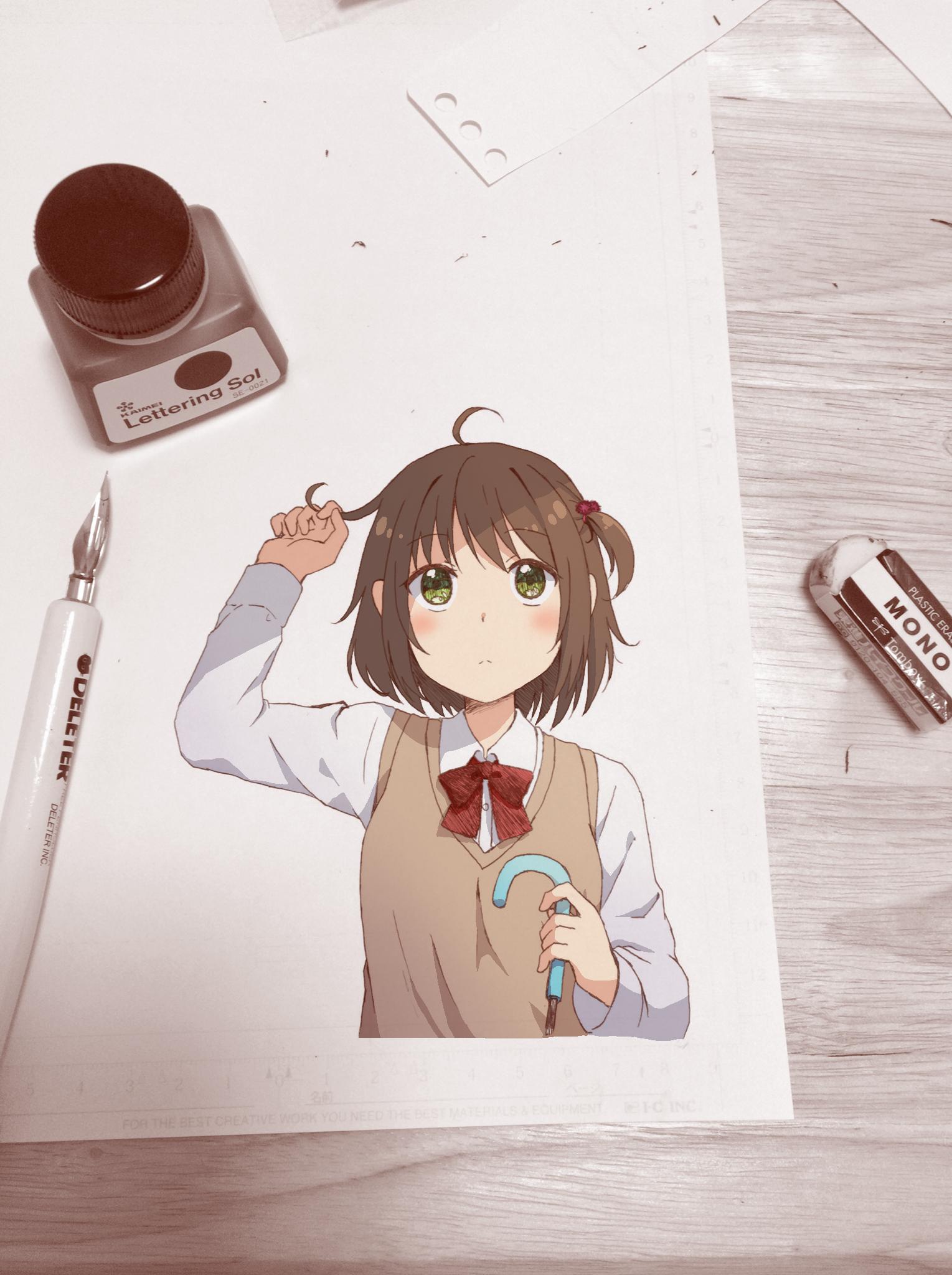 アニメ塗り
