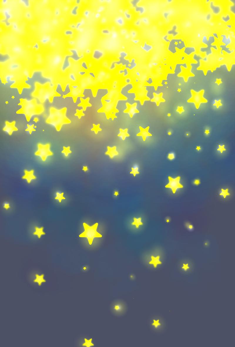 空から降ってきた星