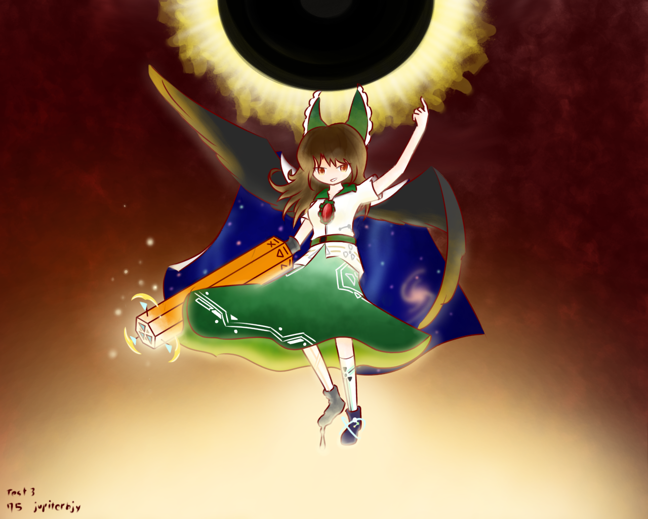 gradation test3 reiuji utsuho