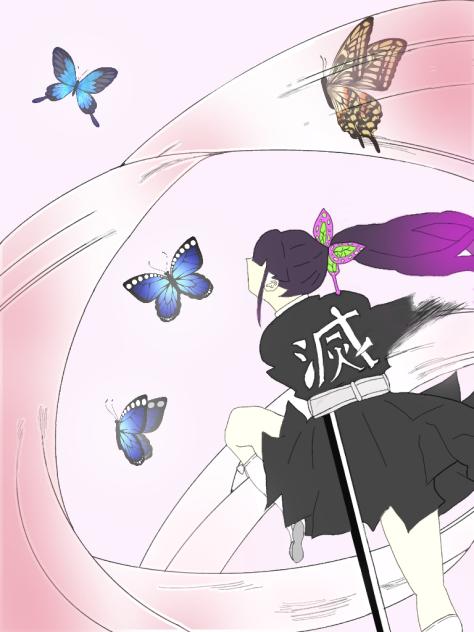 栗花落カナヲ 花の呼吸