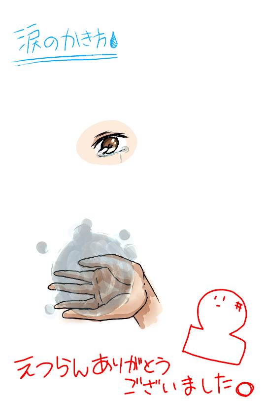 涙のかきかた Ibispaint