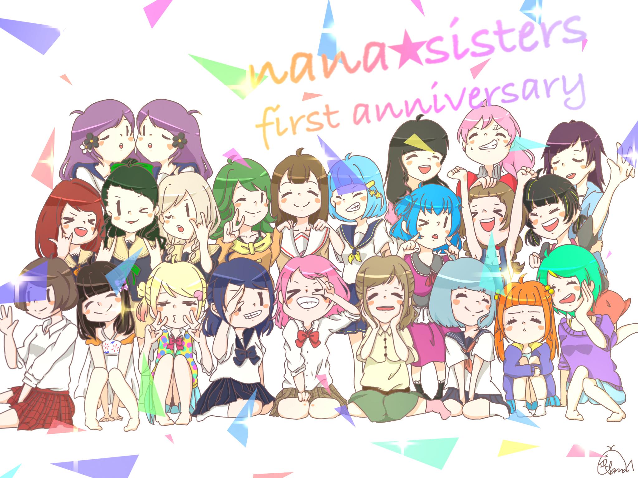 nana☆sisters 一周年