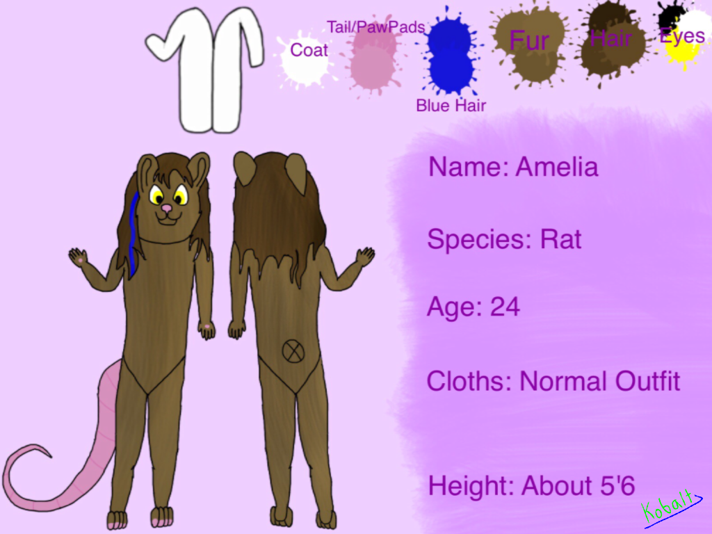 amelia reference sheet ibispaint