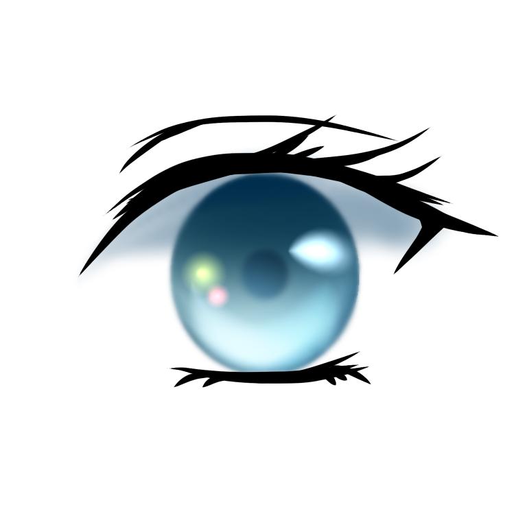 簡単な目のメイキング