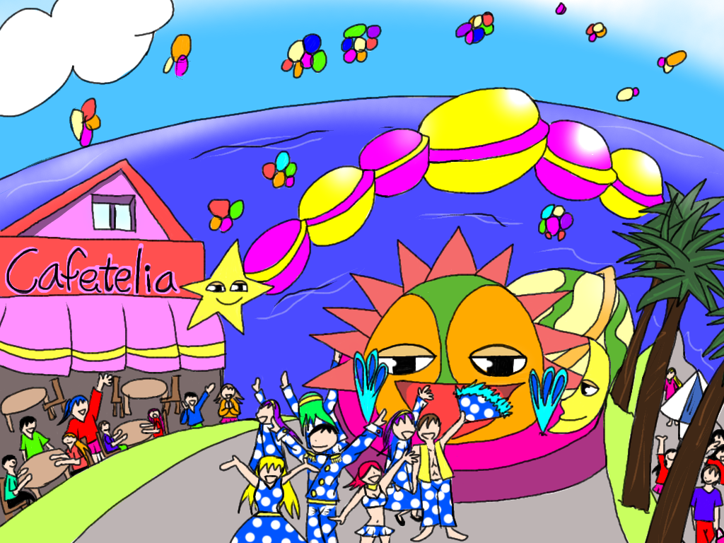 【カーニバル】海辺のカーニバル♪ 【カーニバル】海辺のカーニバル♪