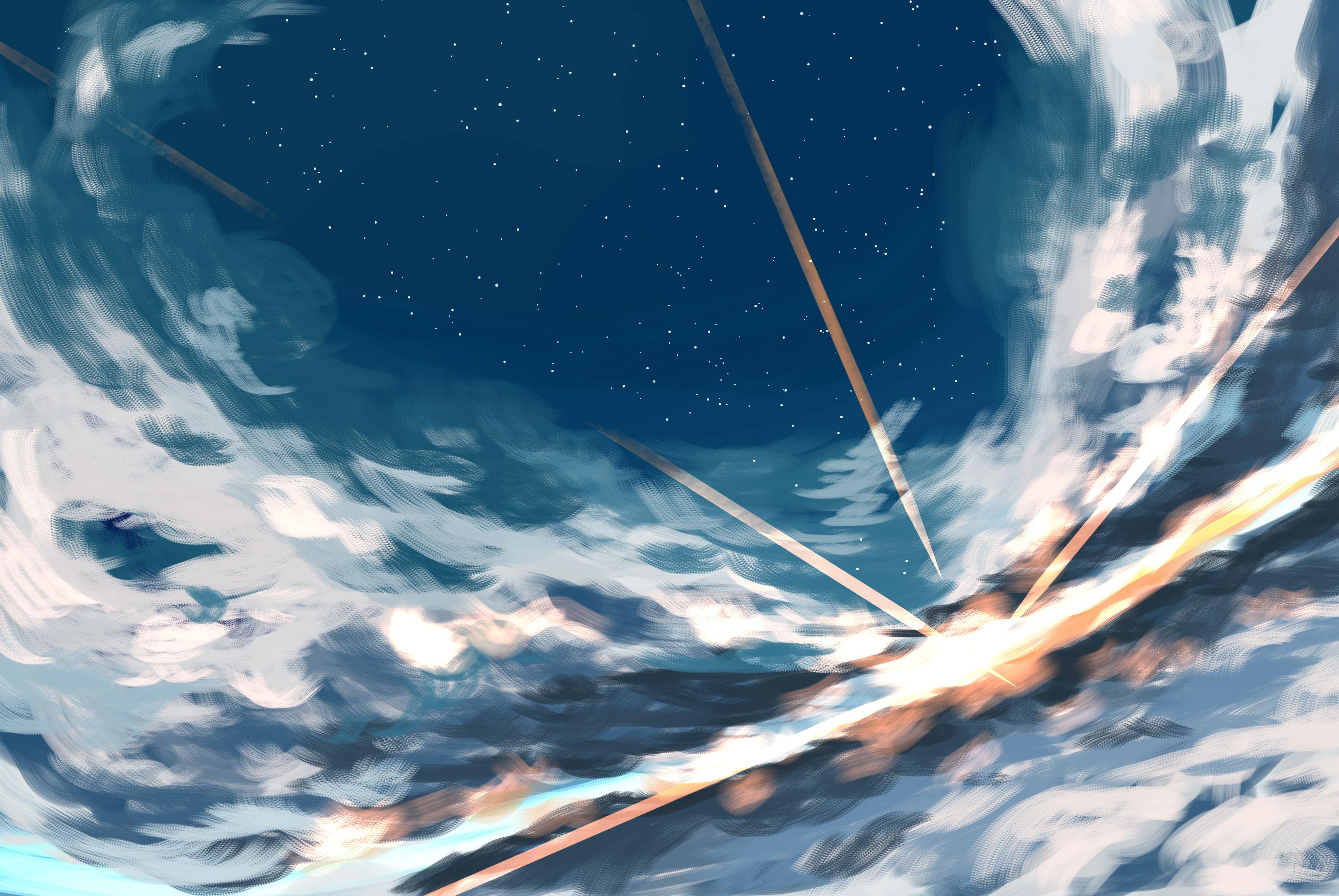 アスノヨゾラ風