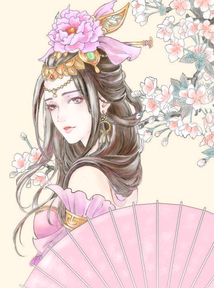 中国 美人画 Ibispaint