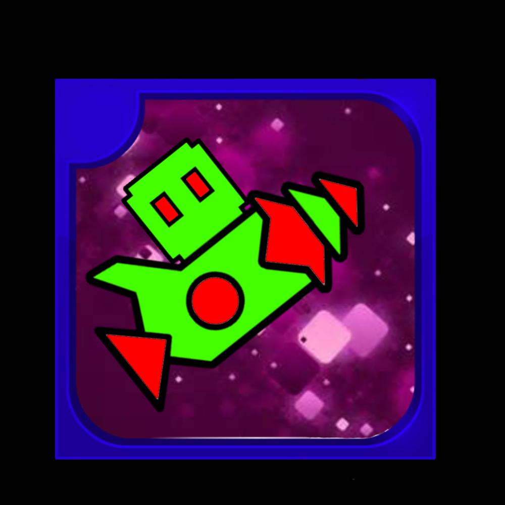 Logo For Geometry Dash Alien