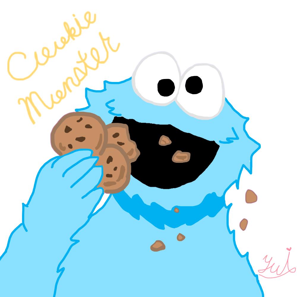 クッキーモンスターの画像 原寸画像検索