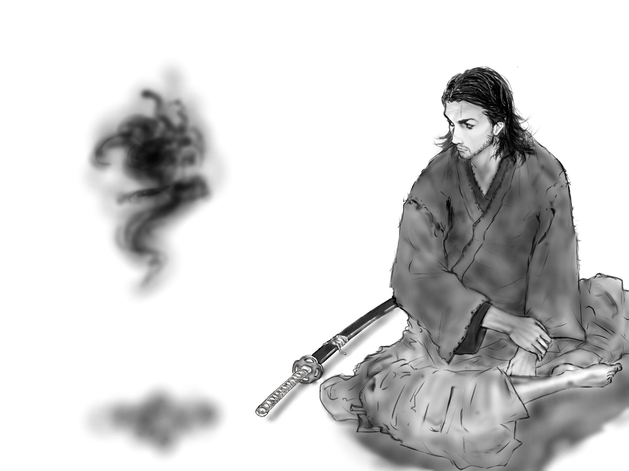 Vagabond Musashi Ibispaint