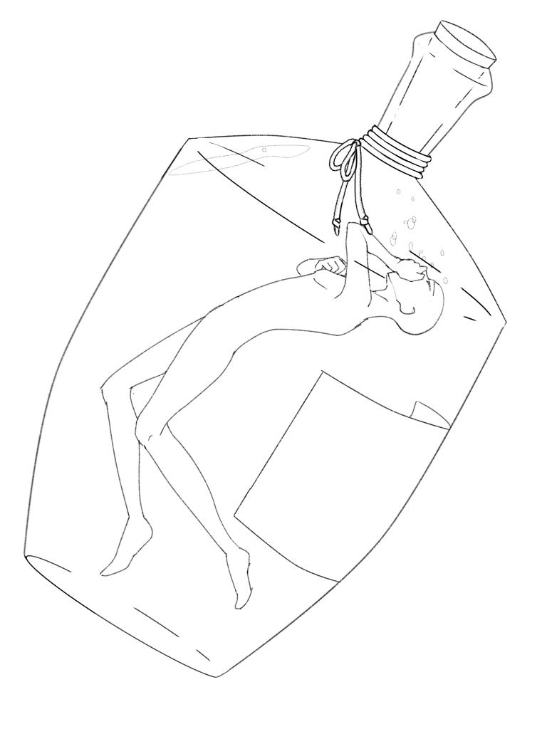 素材 トレス