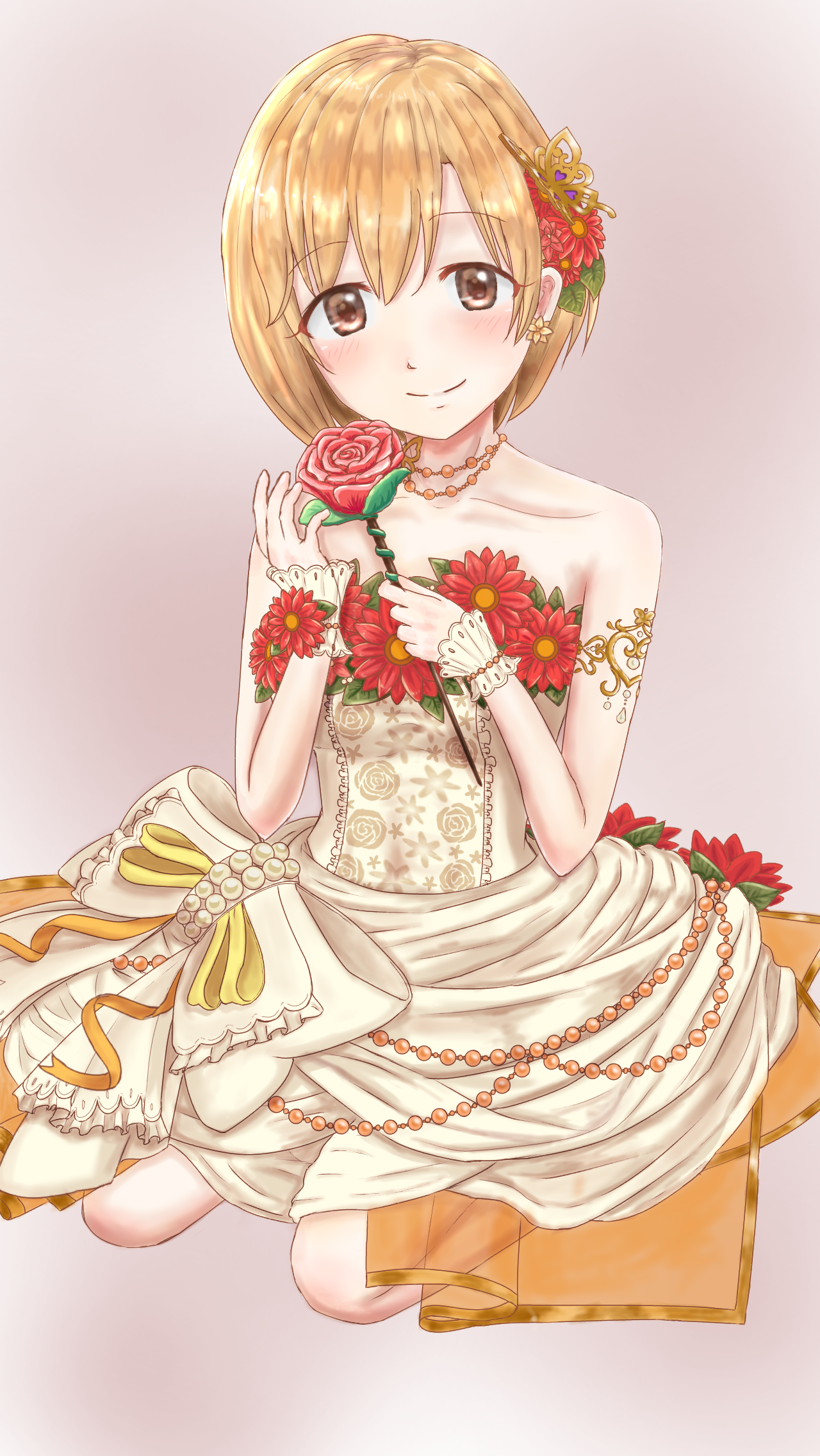 重ねた花びら