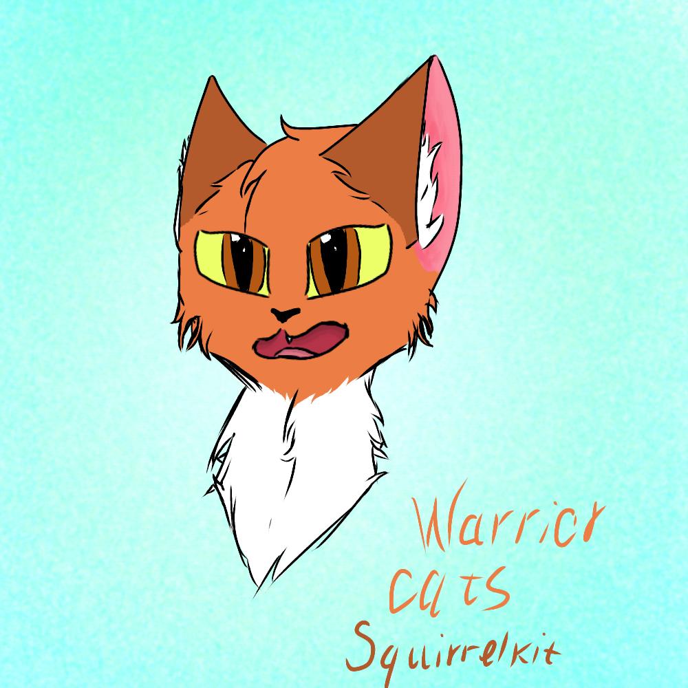 warrior cats squirrelkit ibispaint