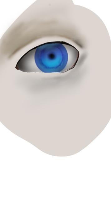 目の描き方 厚塗り?    Tweet PV:101 目の描き方 厚塗り?