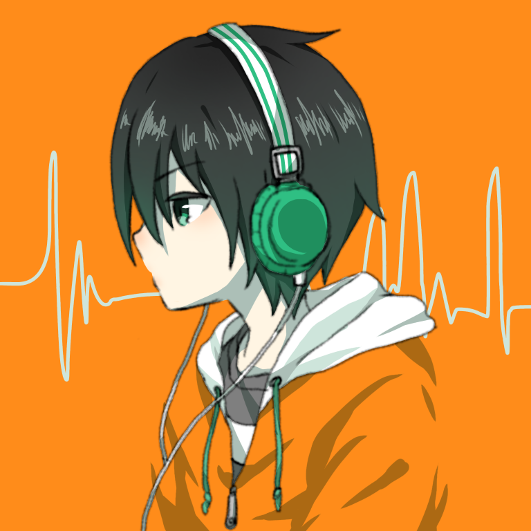 【コラボ】ヘッドフォン男子