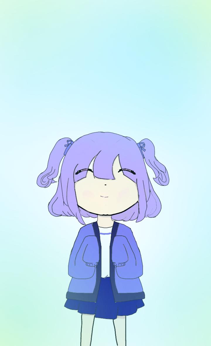파란 소녀