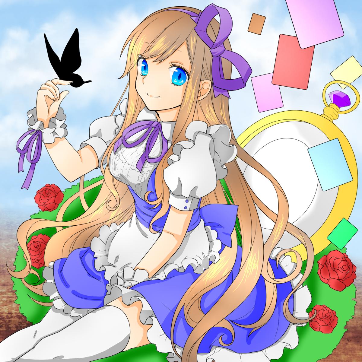 アリス【塗り絵】