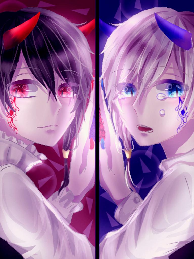 双子の悪魔さん - ibispaint