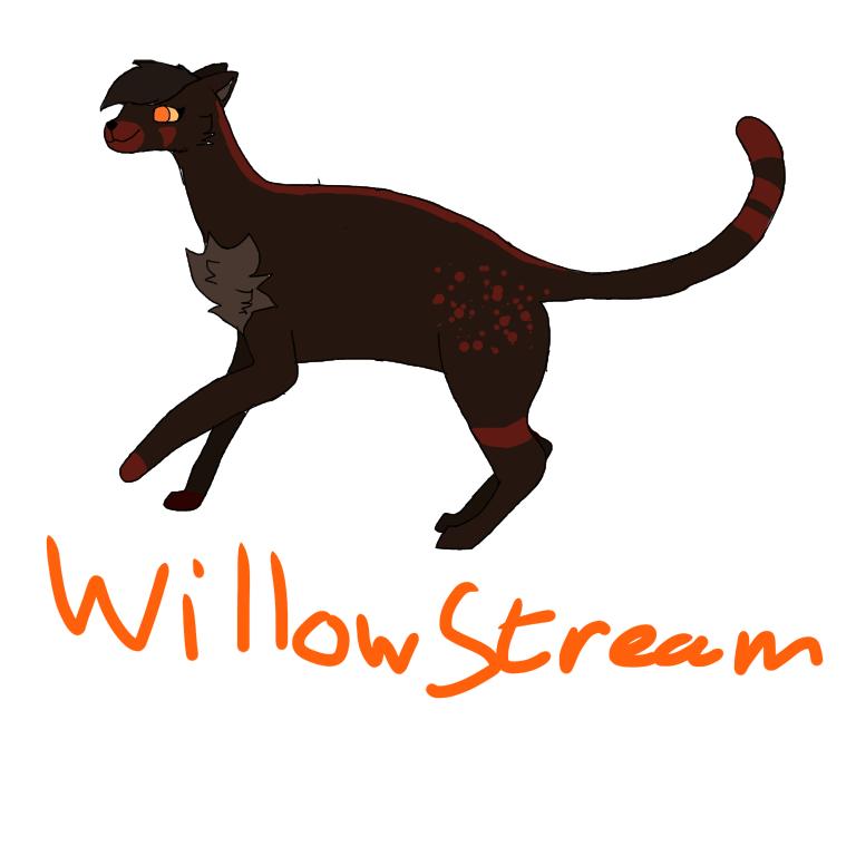 willowstream warrior cats oc ibispaint