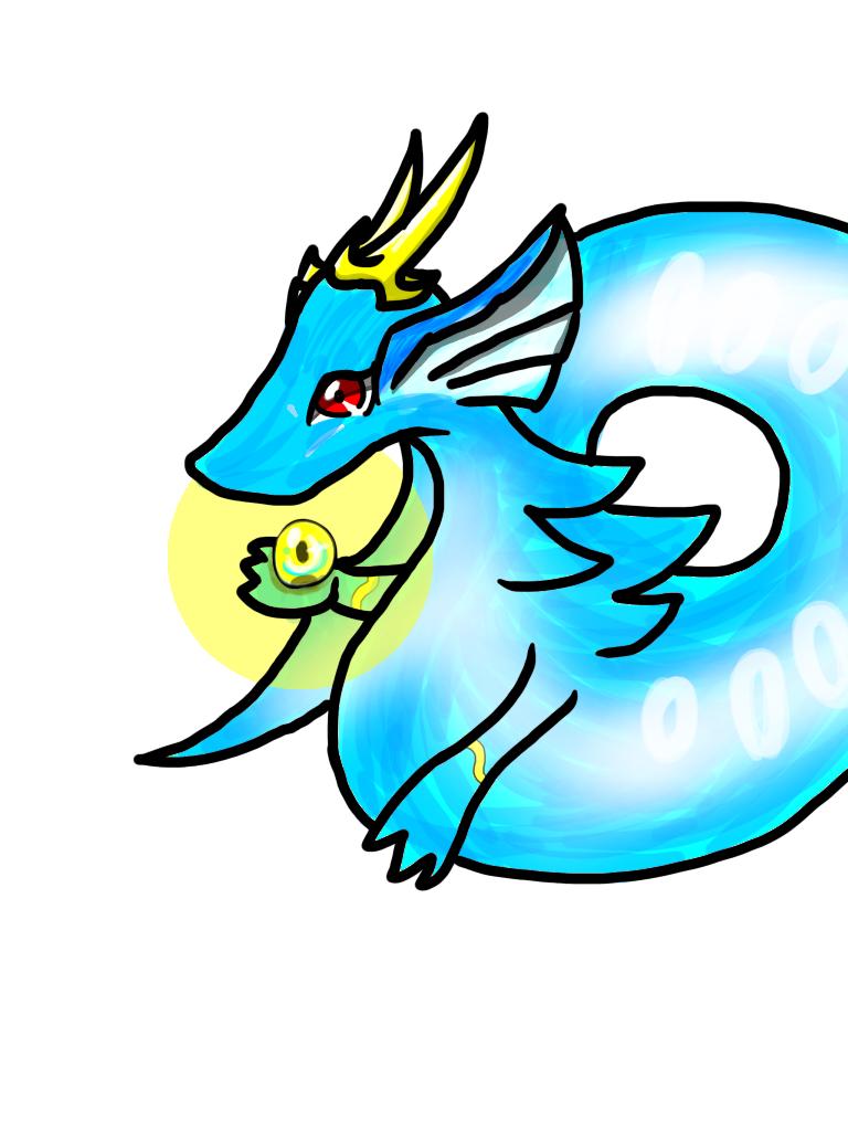 水っぽいドラゴンさん