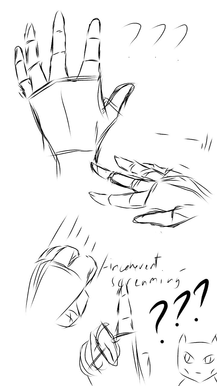 Bad hand practice