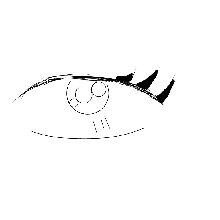 anime eyes for beginners