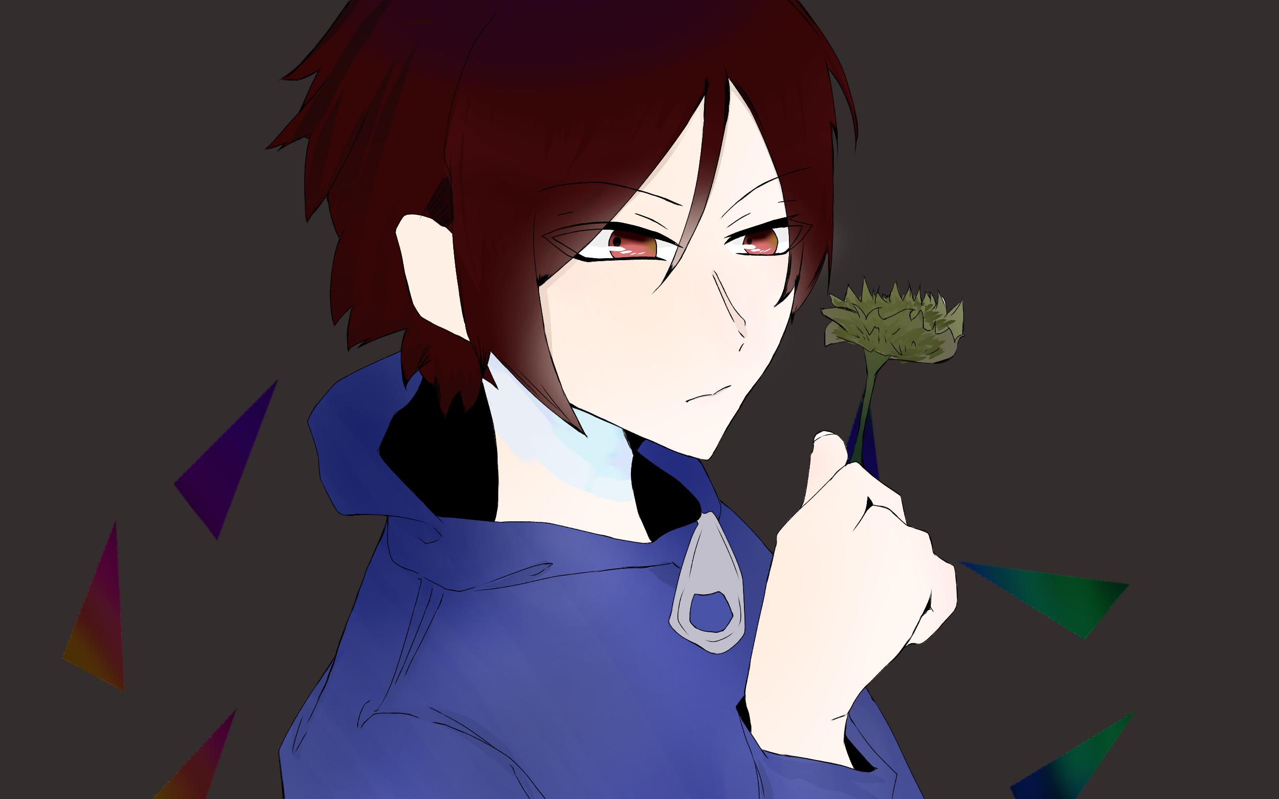枯れた菊の花