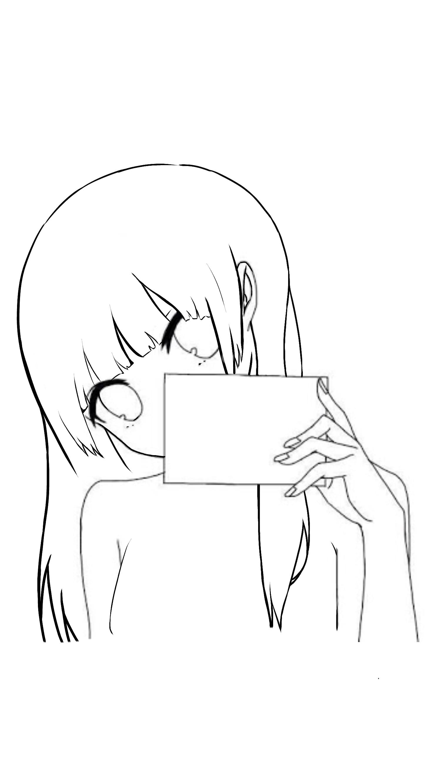 線画】トレス画【楓姫】 - ibisP...
