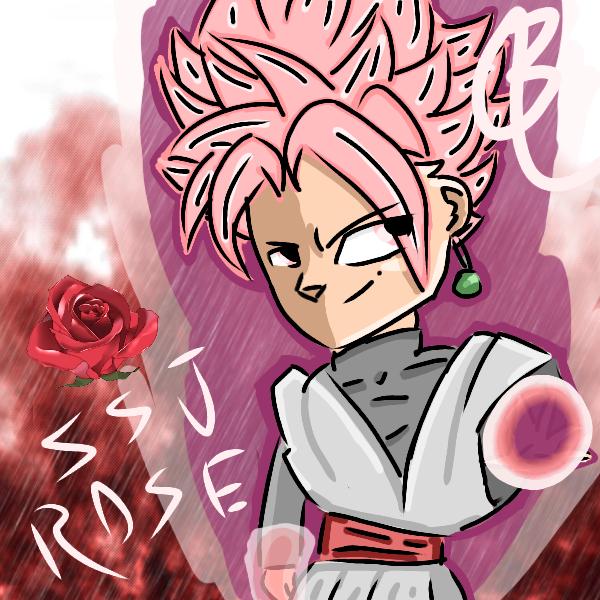 super saiyan rose goku black ibispaint