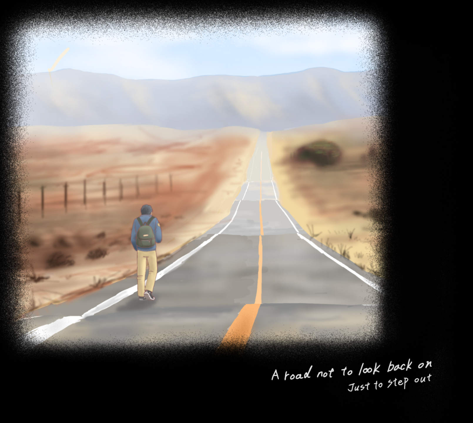 A road not to look back on