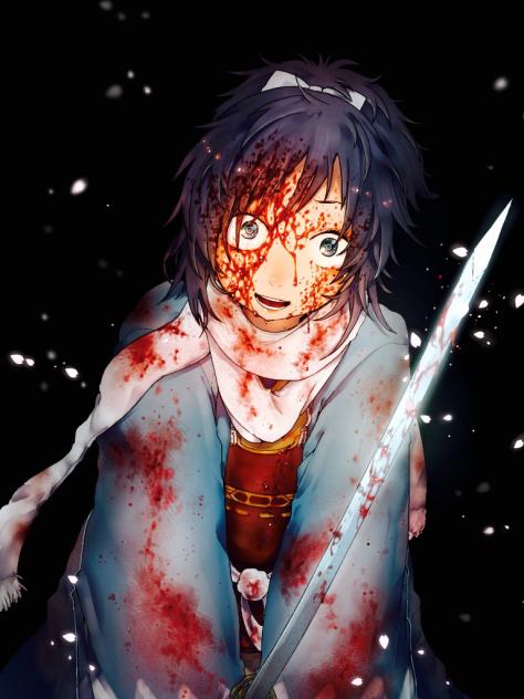 返り血です Ibispaint