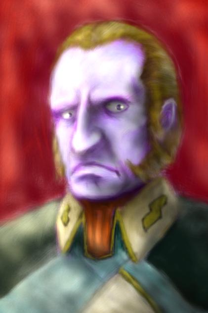 大ガミラス帝国国家元帥ヘルム・ゼーリック - ibisPaint