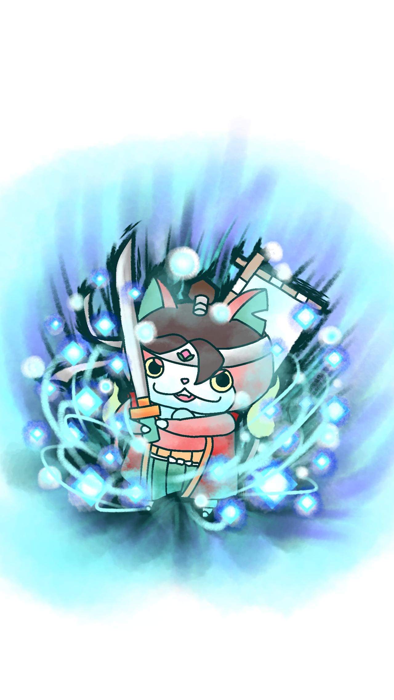 bメダル風モモタロニャン Ibispaint